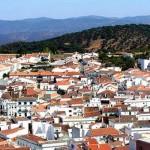 Descansando en la blanca e histórica Aracena